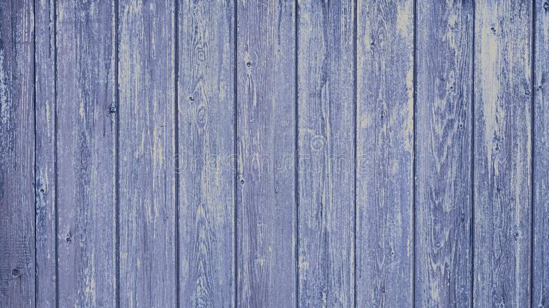 Wood texture panel. Slatted wood panel tinted blue royalty free stock images