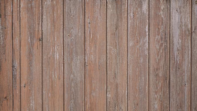 Wood texture panel. Brown texture wooden panel made from wood slats stock photo
