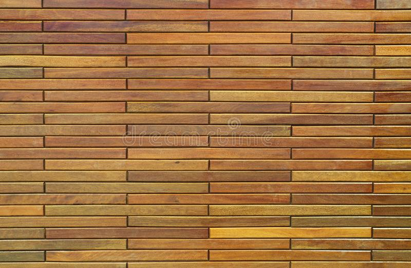 Wood paneling background image. Wood paneling with regular wood spacing background texture royalty free stock images