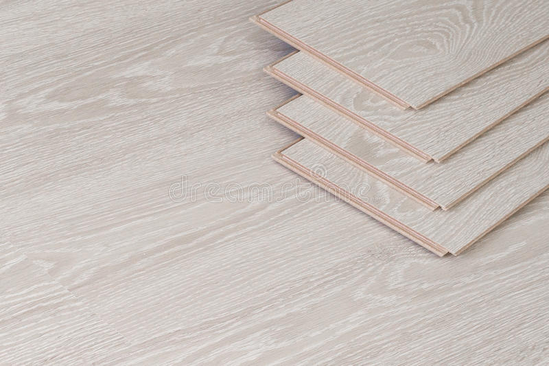 Wood parquet pieces, board for flooring. stock photos