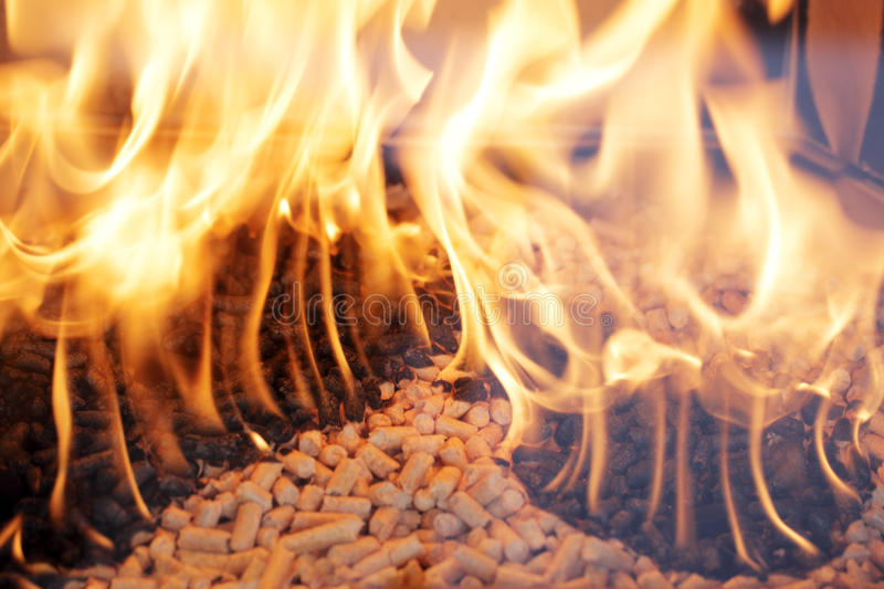 Download Wood pellets stock photo. Image of natural, fireplace - 20331940
