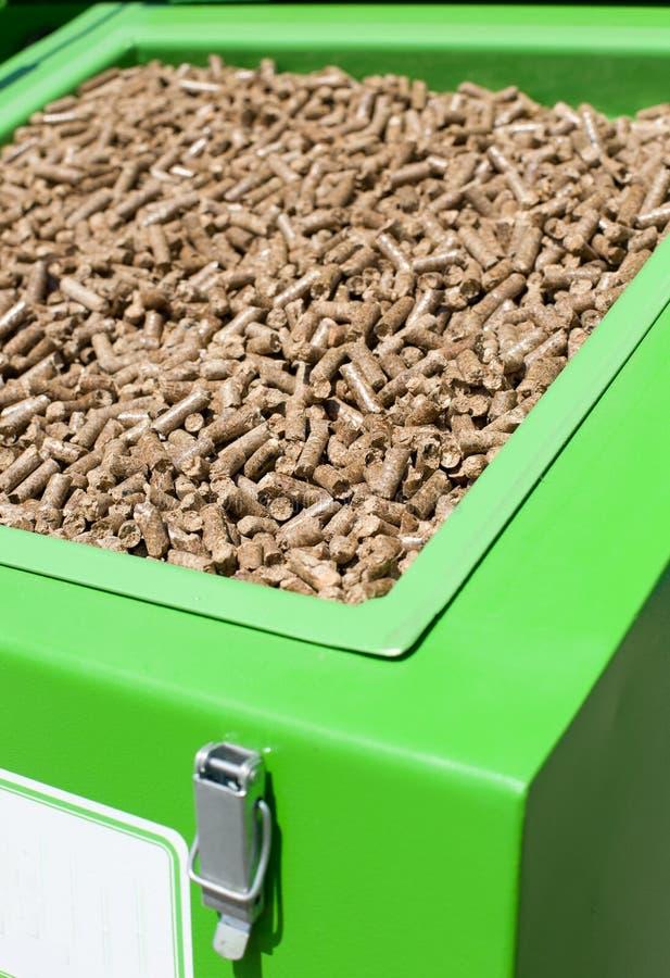 Wood pellets stock photos