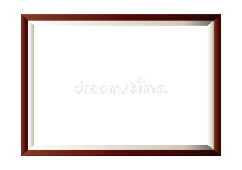 Download Wood Photo Frame Minimal Royalty Free Stock Photos - Image: 5774158