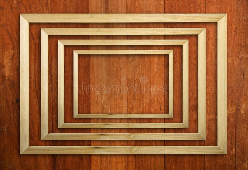 Download Wood picture frame stock image. Image of metal, path - 39506181
