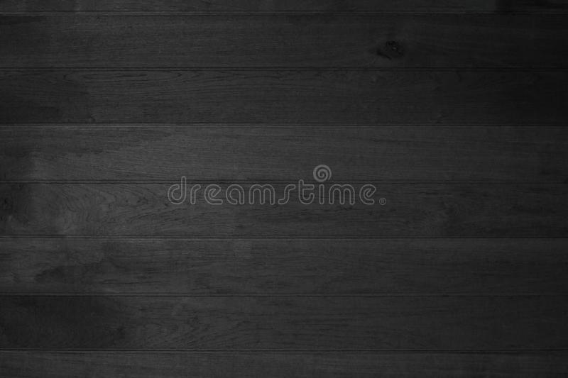 Wood plank black texture background. wooden wall all antique cracking furniture painted weathered or vintage peeling wallpaper. Wood plank black texture stock images