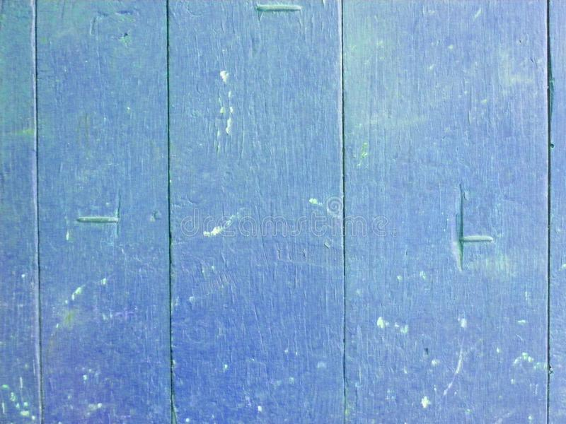 Wood plank blue texture background. Decorative wall paint. Vintage structure. Empty display. Natural wooden board texture royalty free stock photos