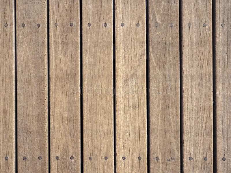 Wood plank texture background pattern. Wood plank with nail texture background pattern royalty free stock photos