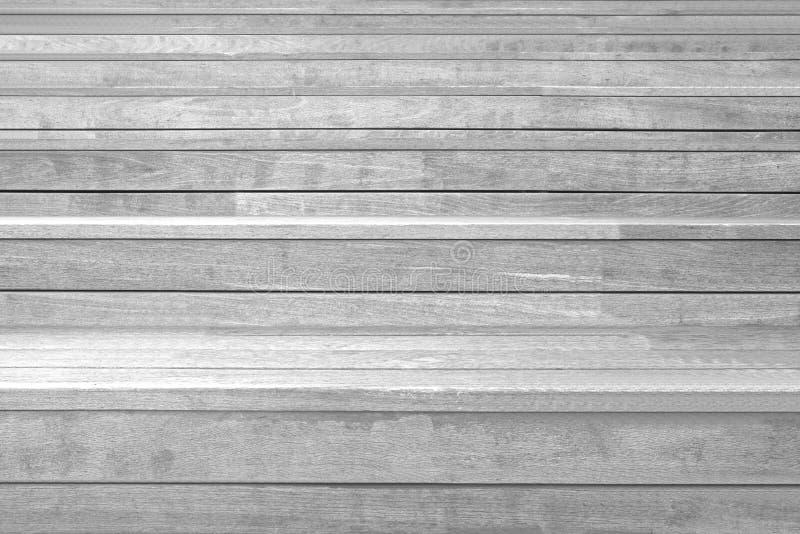 Wood plankatrappa royaltyfri bild
