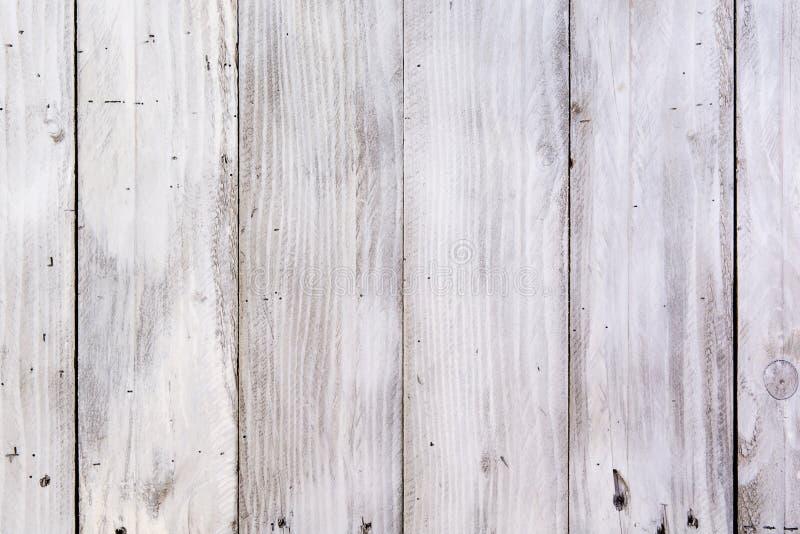 Wood plankawhitetextur arkivfoton