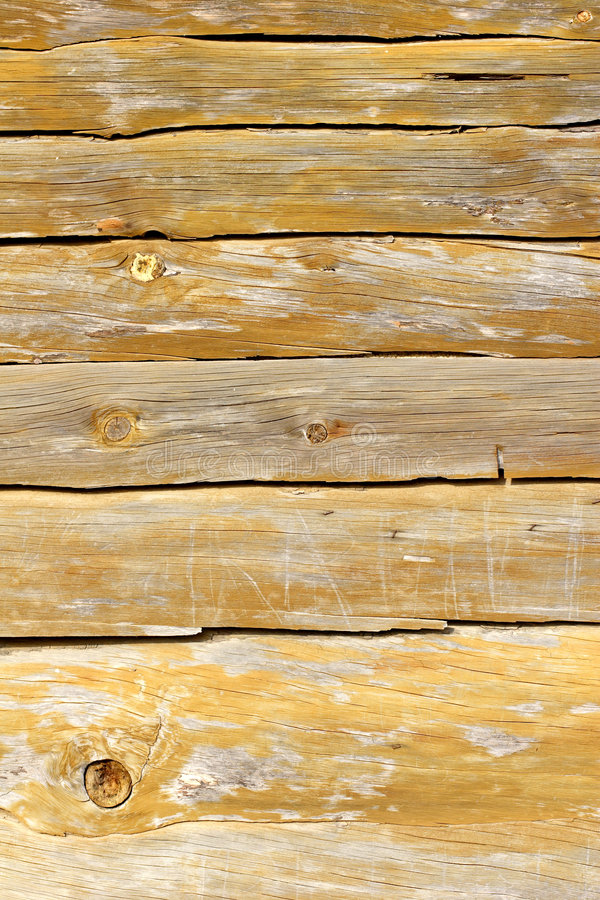 Wood planking from beach hut royalty free stock photo