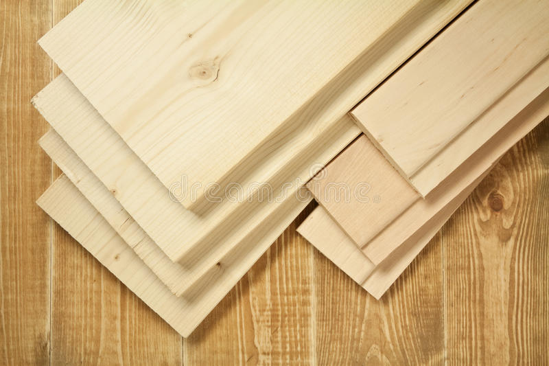 Wood planks stock image