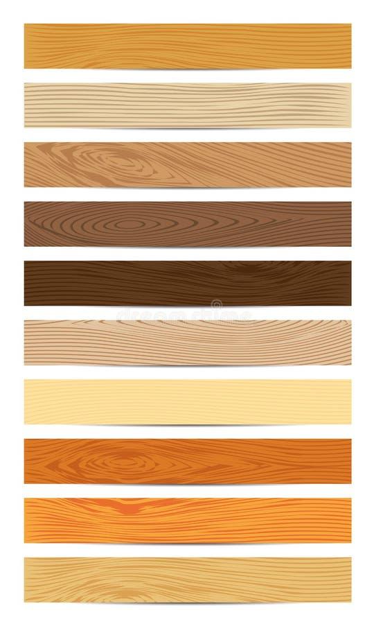 Wood Planks vector illustration