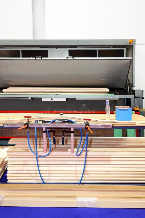 Wood Press Stock Image