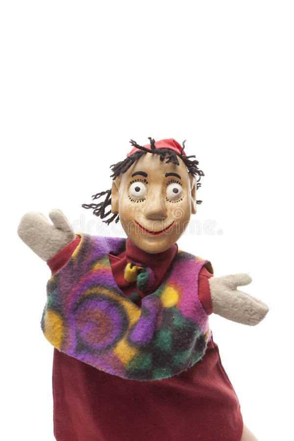 Download Wood Puppet Welcomes Visitors Stock Photo - Image: 28603836