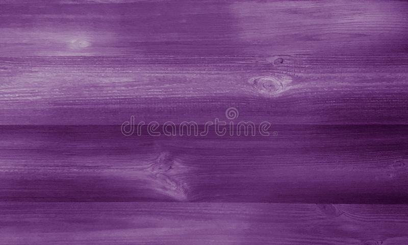 Wood purple background, dark wooden abstract texture stock image