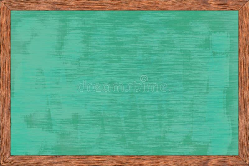 Wood ram för svart tavla med svart yttersida royaltyfri fotografi