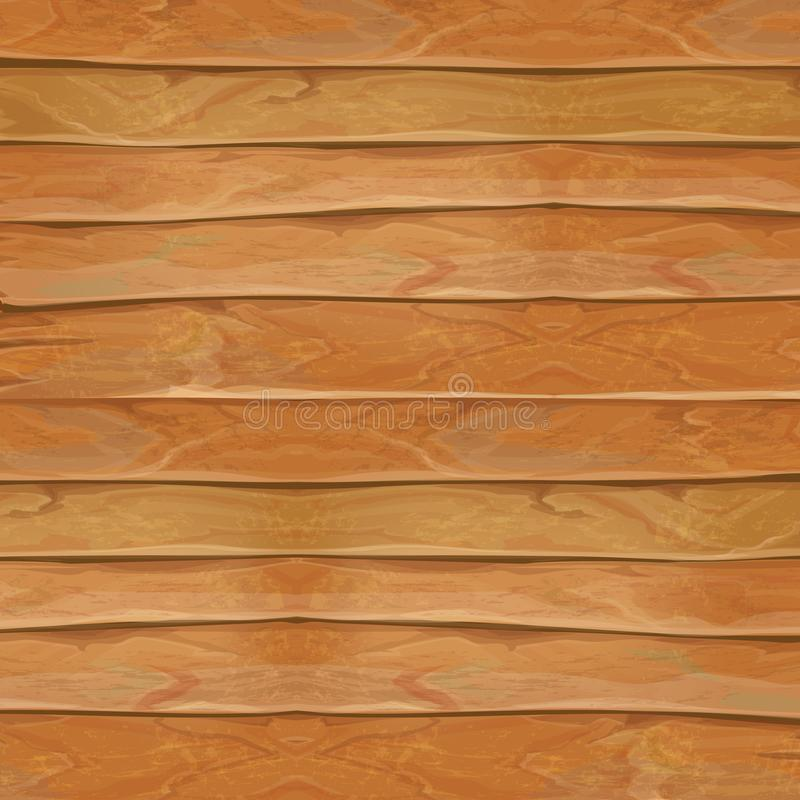 Wood realistic texture illustration. Natural wooden background vector vector illustration