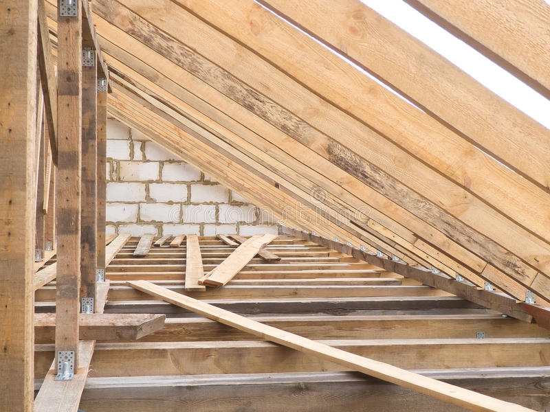 Download Wood roof farms stock photo. Image of construction, barn - 21653690