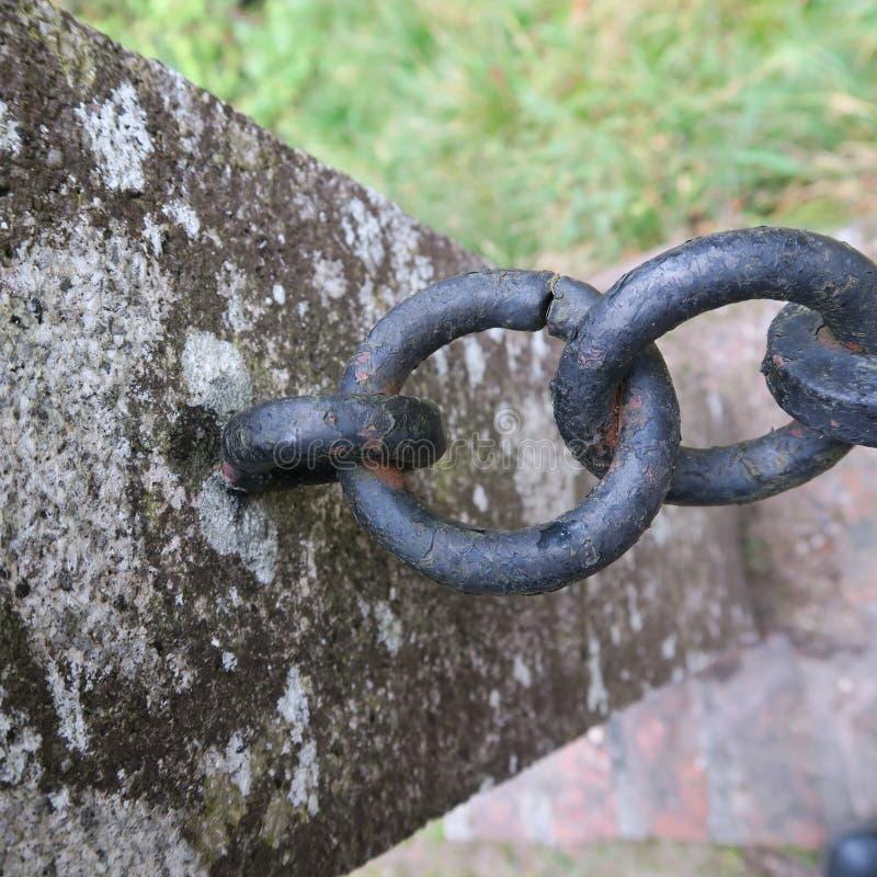 Wood rusty iron lock texture of old, vintage, rain wind, wea royalty free stock image