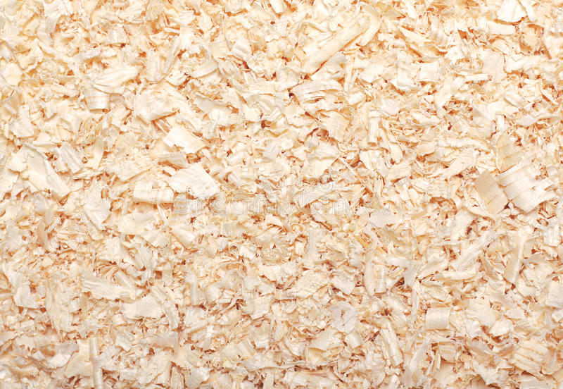 Wood sawdust texture material background closeup royalty free stock photos