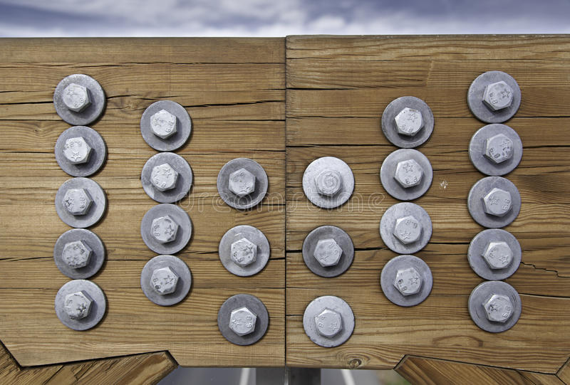 Download Wood stock image. Image of groups, grip, bolts, cloudy - 26366347