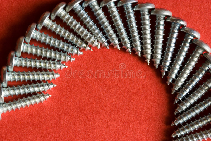 Wood Spiral stock image