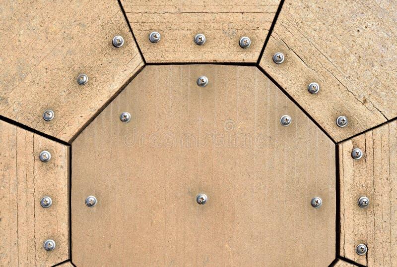 Download Wood screws stock image. Image of plate, grunge, retro - 34928471