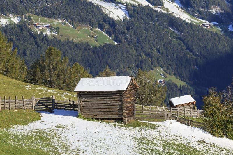 Wood shacks