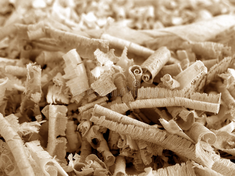 Wood Shavings 1 v2 royalty free stock photography