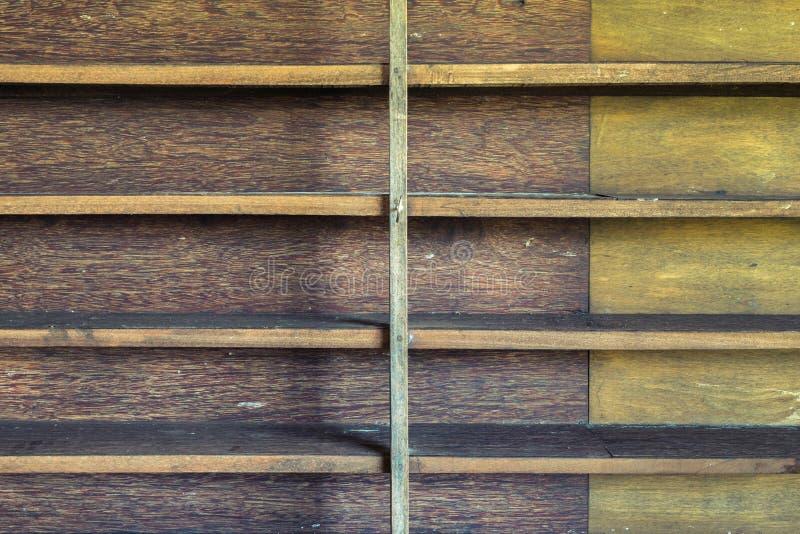 Wood shelf. Old wood shelf in abandoned house stock photography