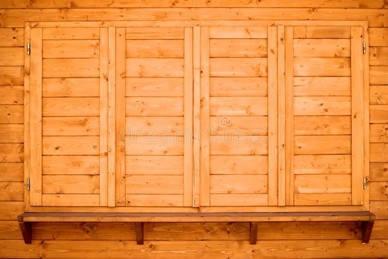 Download Wood shelf and shutters stock image. Image of doors, texture - 14335145