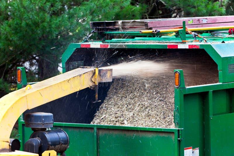 Download Wood shredder stock image. Image of shredder, working - 25230733