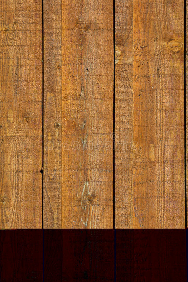 Wood Siding. Wooden Board and Batten Siding royalty free stock photo