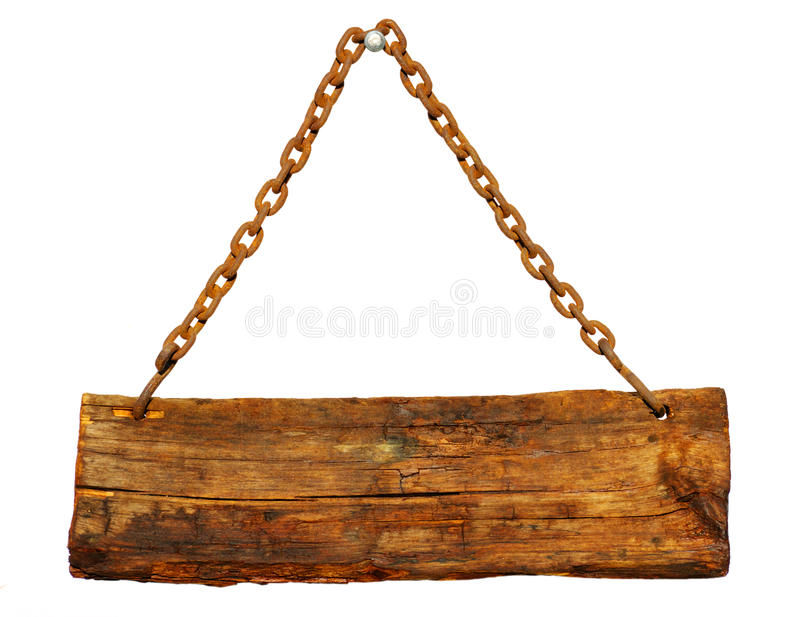 Wood sign royalty free stock image