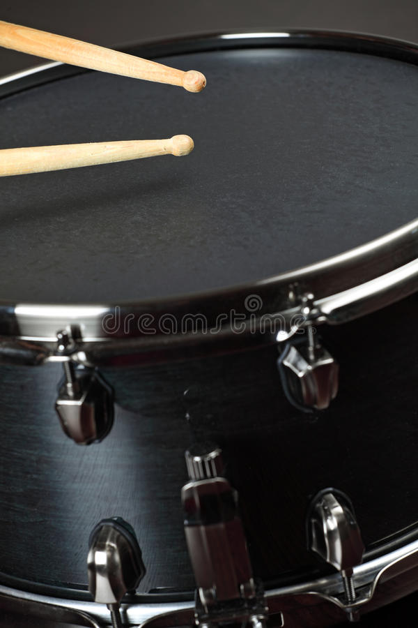 Wood snare drum stock photos