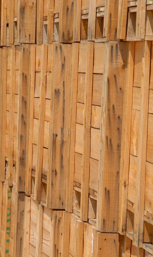wood spjällådor fotografering för bildbyråer