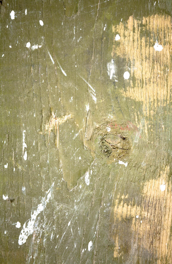 Wood Stained With Paint Royalty Free Stock Images