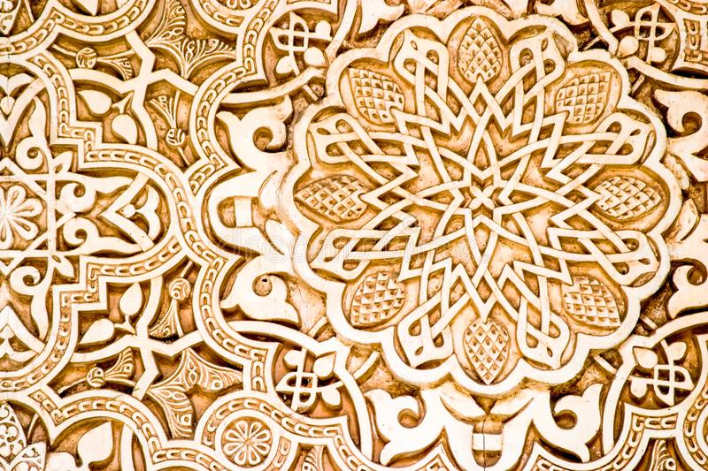 The chinioti Islamic artwork stock images
