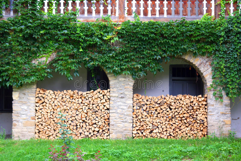 Wood store stock images