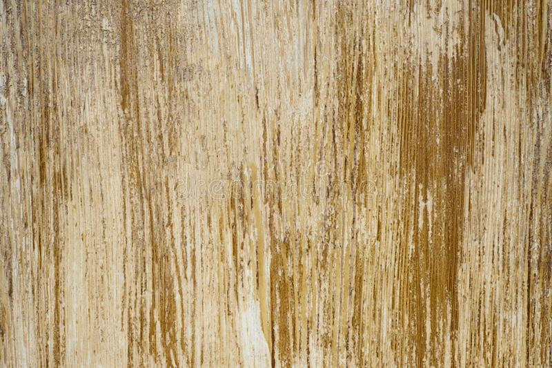 Wood surface background with flaky brown paint stock photography