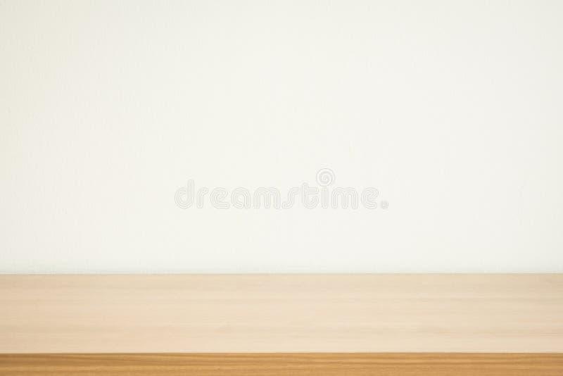 Wood tabell- och väggbakgrund royaltyfria bilder