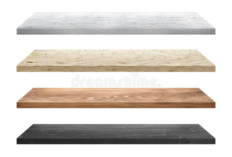 Wood table stock photos