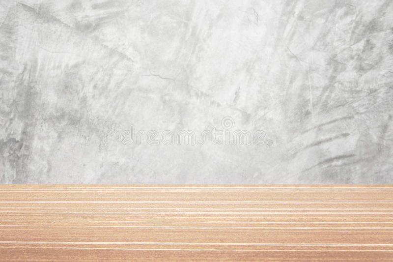 Wood table and wall background royalty free stock photos