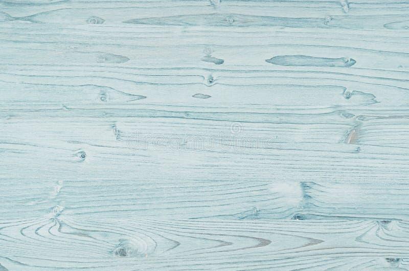 Wood textur för ljus aquablåtttappning royaltyfria foton