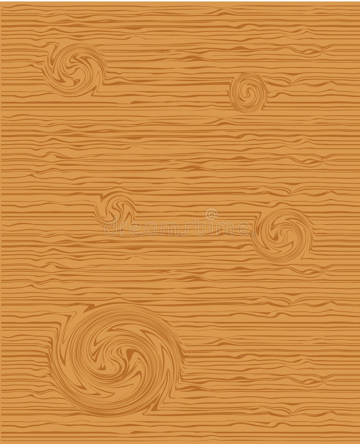 Wood texture stock illustration