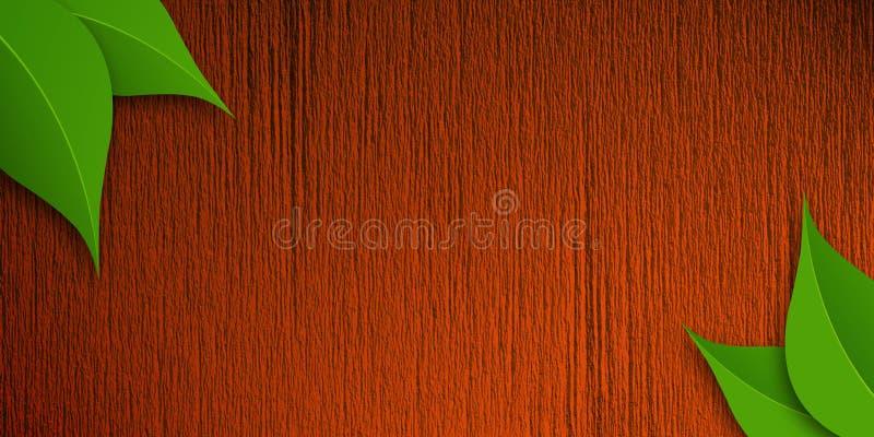 Wood Texture Bacground royalty free illustration