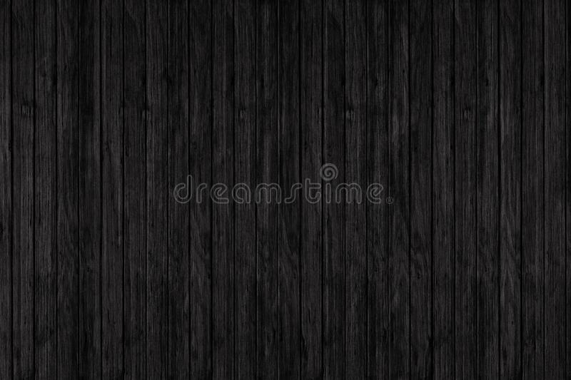 Wood texture background. black wood wall ore floor stock image