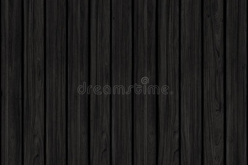 Wood texture background. black wood wall ore floor royalty free stock photo