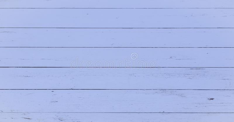 Wood texture background, blue wood planks. Grunge washed wood wall pattern. stock image