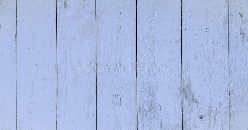 Wood texture background, blue wood planks. Grunge washed wood wall pattern. stock photography